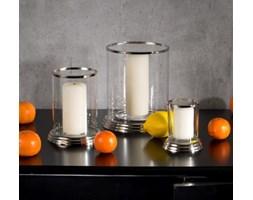 Dekoria Szklany świecznik Ancona duży, 19x21cm, 19x21cm
