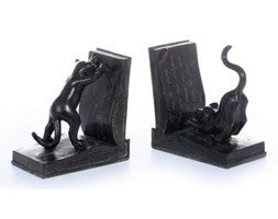Dekoria Podpórki Black Cats na książki 15x8,5x15,5cm, 15x8,5x15,5cm