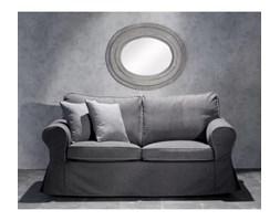 Dekoria Pokrowiec na sofę Ektorp 2-osobową rozkładana NOWY MODEL 2012, ciemny szary a'la filc, sofa ektorp 2-osobowa rozkładana NOWY MODEL, Cardiff