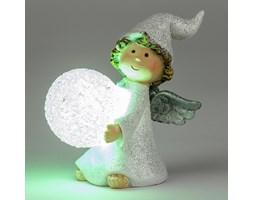 Aniołek świąteczny z kulą LED,