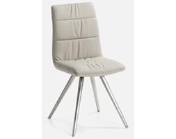 Krzesło Lark perłowe ze srebrnymi nogami LaForma C204U38