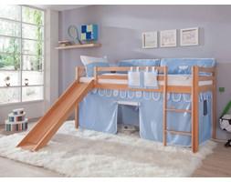 Łóżko bukowe antresola Wendy 17 90x200