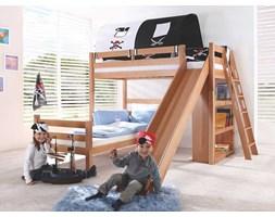 Łóżko bukowe piętrowe Wendy 10 90x200cm