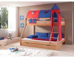 Łóżko bukowe piętrowe Wendy 35 90/140x200cm