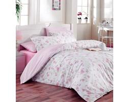 Tip Trade Pościel bawełniana Ece Pink, 220 x 200 cm, 2 szt. 70 x 90 cm