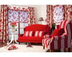 Dekoria Sofa Oxford 110x175/140x90 czerwona -50%, 110x175/140x90
