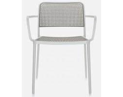 Krzesło Audrey biało-szare Kartell 5876-B3