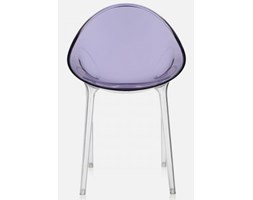 Krzesło Mr. Impossible transparentne fioletowe Kartell 5840-43