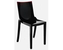 Krzesło Hi-Cut czarno-czerwone Kartell 5850-N6