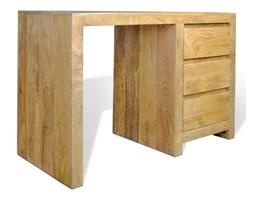 Biurko z litego drewna w stylu skandynawskim 78x120x55
