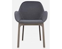Kartell Krzesło Clap grafitowo-beżowe - 4182-T2
