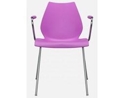 Krzesło Maui z podłokietnikami różowe Kartell 2872-FF
