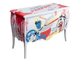 Dekoria Komoda Comics 2 szuflady -55%, 120x50x84cm