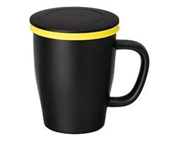 Kubek z zaparzaczem 350 ml PO: Ming czarno-żółty kod: 14746 - do kupienia: www.superwnetrze.pl