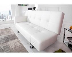 Sofa lucy biała rozkładana wersalka