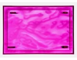 Taca Dune I transparentna fuksja Kartell 1200-VV