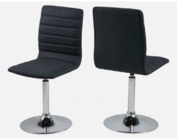 Homelike Krzesło Obrotowe Piper I ciemnoszare - hm0000063052