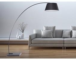 Lampa stojaca - podlogowa - kolor czarny - oswietlenie - BENUE
