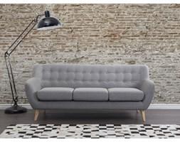 Sofa jasnoszara - kanapa - sofa tapicerowana - MOTALA