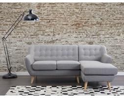 Sofa jasnoszara - kanapa - tapicerowana - naroznik - MOTALA