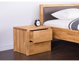 Drewniana szafka nocna z 2 szufladami CARRIS ARRAS
