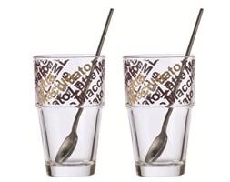 Zestaw 2 szklanek do Latte Solo