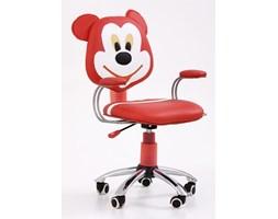Fotel młodzieżowy Mike Halmar czerwono-kremowy(V-CH-MIKE-FOT) --- NAJTANIEJ W DECOFIRE!! ZAPYTAJ O OFERTĘ: 668-151-378