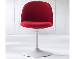 Krzesło Ally Trumpet czerwone nogi chromowe Tenzo AllyTrumpet-CZE-CH