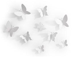 Zestaw dekoracyjny Mariposa biały