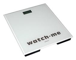 Waga łazienkowa, elektroniczna, watch-me biała