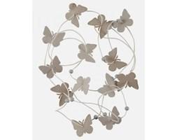 Ib Laursen Sznurek Dekoracyjny Motylki szary - 2683-18