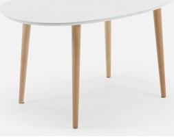 EnoRika Stół Rozkładany Lasoto-II biały - EC307L33