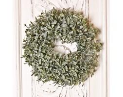Wianek świąteczny zielony 27 cm