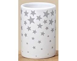 Kubek ceramiczny Star biały
