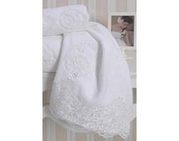 Luksusowy ręcznik kąpielowy 85x150 cm DIANA Biały