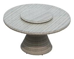 Stół obiadowy ogrodowy z tacą obrotową West śr. 142x75 cm