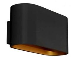 Kinkiet LAMPA ścienna CONCEPT 1235 Zumaline OPRAWA metalowa czarny złoty