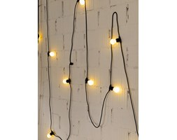 Seletti :: Lampki ogrodowe Bella Vista czarne (mleczne żarówki LED)