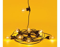 Seletti :: Lampki ogrodowe Bella Vista clear (party lights)