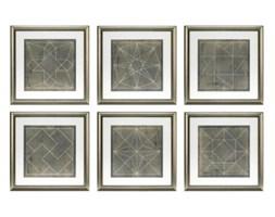EiCHHOLTZ obraz Geometric Blueprints set o 6