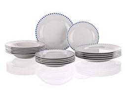Banquet CUBITO BLUE 18-częściowy zestaw obiadowy,