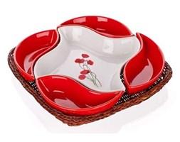 BANQUET Red Poppy 5-częściowa miska do serwowania,