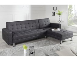 Invicta Interior Narożnik Chaise Lounge antracytowy - i36140