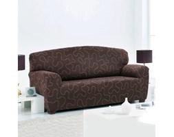 Forbyt Multielastyczny pokrowiec Lazos na kanapę brązowy, 120 x 160 cm, 120 - 160 cm