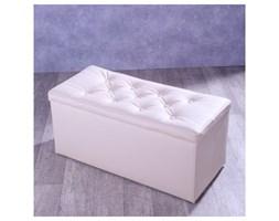 Dekoria Skrzynia tapicerowana z guzikami 90x40x40 Eco-leather 106-30 -10%, 90x40x40