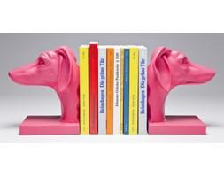 Podpórka na książki Dog Pink (2/Set)