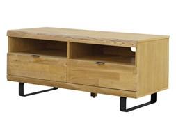 Stolik pod telewizor CHICAGO 120 cm, drewno dębu, naturalny, czarny, 91783-2