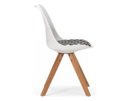 Krzesło California I białe siedzisko w kropki Massivum 10021518