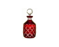 Karafka kolorowa kryształowa do wina malowana 1litr -5366
