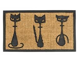 BO-MA Trading Wycieraczka 3 koty cienka, 40 x 70 cm